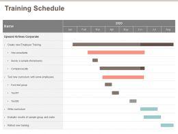 Training Schedule Sample M530 Ppt Powerpoint Presentation Outline Design Ideas