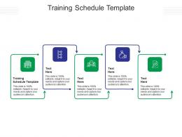 Training Schedule Template Ppt Powerpoint Presentation Inspiration Files Cpb