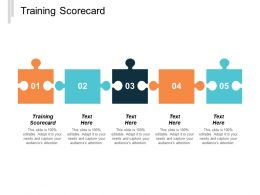 Training Scorecard Ppt Powerpoint Presentation Inspiration Graphics Example Cpb