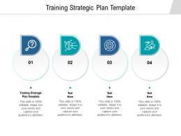 Training Strategic Plan Template Ppt Powerpoint Presentation Portfolio Gallery Cpb