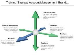Training Strategy Account Management Brand Management Customer Service Management