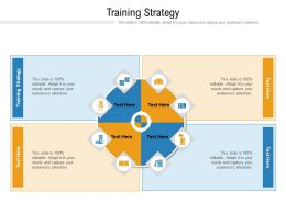 Training Strategy Ppt Powerpoint Presentation Summary Professional Cpb
