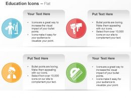 Training Teacher Class Brush Scale Ppt Icons Graphics