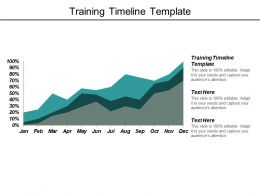 Training Timeline Template Ppt Powerpoint Presentation Model Graphics Pictures Cpb