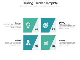 Training Tracker Template Ppt Powerpoint Presentation Inspiration Maker Cpb