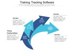 Training Tracking Software Ppt Powerpoint Presentation File Inspiration Cpb