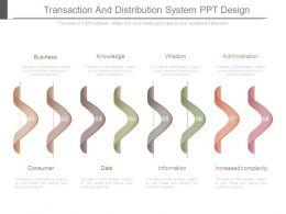 Transaction And Distribution System Ppt Design