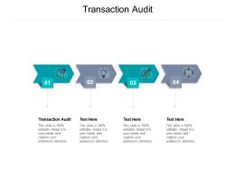 Transaction Audit Ppt Powerpoint Presentation Infographic Template Example 2015 Cpb
