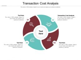 Transaction Cost Analysis Ppt Powerpoint Presentation Infographics Visual Aids Cpb