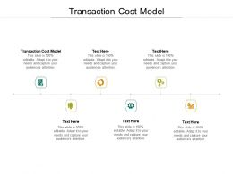 Transaction Cost Model Ppt Powerpoint Presentation Microsoft Cpb