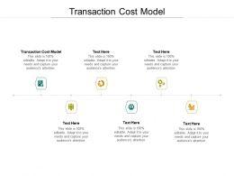 Transaction Cost Model Ppt Powerpoint Presentation Microsoft Cpb