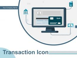 Transaction Icon Automated Machine Dollar Business Shopping Successful Handshaking Banking Cashless