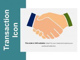Transaction Icon Powerpoint Ideas