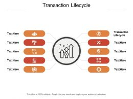 Transaction Lifecycle Ppt Powerpoint Presentation Slides Ideas Cpb