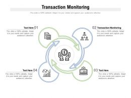 Transaction Monitoring Ppt Powerpoint Presentation Slides Templates