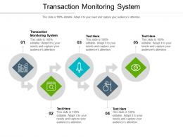 Transaction Monitoring System Ppt Powerpoint Presentation Icon Designs Cpb