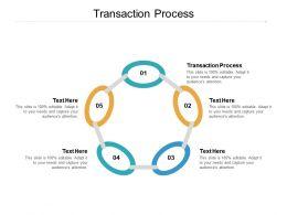 Transaction Process Ppt Powerpoint Presentation Portfolio Images Cpb