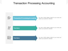 Transaction Processing Accounting Ppt Powerpoint Presentation Pictures Graphics Cpb