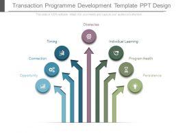 transaction_programme_development_template_ppt_design_Slide01