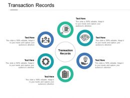 Transaction Records Ppt Powerpoint Presentation Icon Slide Download Cpb