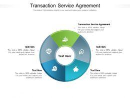 Transaction Service Agreement Ppt Powerpoint Presentation Portfolio Slides