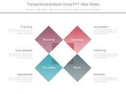 Transactional Analysis Group Ppt Slide Styles