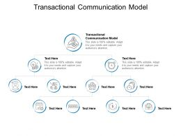 Transactional Communication Model Ppt Powerpoint Presentation Images Cpb