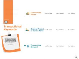 Transactional Keywords Transactional Keyword Ppt Powerpoint Presentation Icon Example File