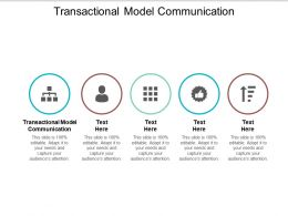 Transactional Model Communication Ppt Powerpoint Presentation Styles Rules Cpb