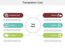 Transactions Cost Ppt Powerpoint Presentation Infographics Information Cpb