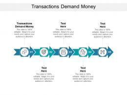 Transactions Demand Money Ppt Powerpoint Presentation Slides Themes Cpb