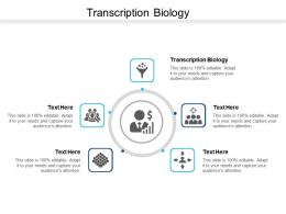 Transcription Biology Ppt Powerpoint Presentation Infographic Template Graphics Example Cpb