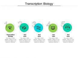 Transcription Biology Ppt Powerpoint Presentation Inspiration Template Cpb