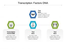 Transcription Factors DNA Ppt Powerpoint Presentation Styles Graphics Pictures Cpb