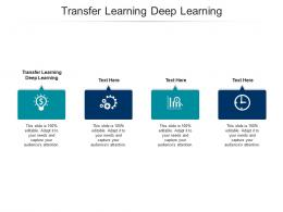 Transfer Learning Deep Learning Ppt Powerpoint Presentation Pictures Icon Cpb