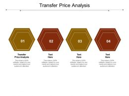 Transfer Price Analysis Ppt Powerpoint Presentation Icon Styles Cpb
