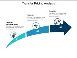 Transfer Pricing Analysis Ppt Powerpoint Presentation Icon Graphics Template Cpb