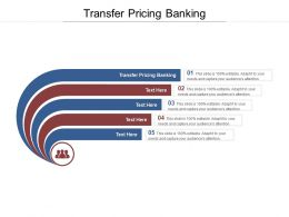 Transfer Pricing Banking Ppt Powerpoint Presentation Icon Template Cpb