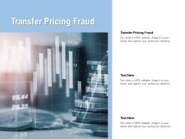 Transfer Pricing Fraud Ppt Powerpoint Presentation Portfolio Outfit Cpb