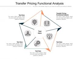 Transfer Pricing Functional Analysis Ppt Powerpoint Presentation Icon Format Ideas Cpb