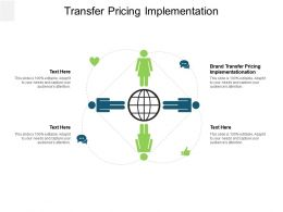 Transfer Pricing Implementation Ppt Powerpoint Presentation Icon Inspiration Cpb