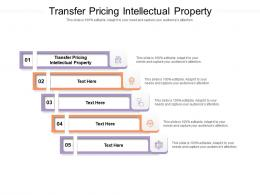 Transfer Pricing Intellectual Property Ppt Powerpoint Presentation Pictures Model Cpb