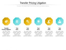 Transfer Pricing Litigation Ppt Powerpoint Presentation Ideas Example Cpb