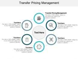Transfer Pricing Management Ppt Powerpoint Presentation Summary Format Cpb