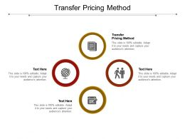 Transfer Pricing Method Ppt Powerpoint Presentation Model Slide Portrait Cpb