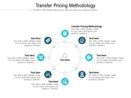 Transfer Pricing Methodology Ppt Powerpoint Presentation Styles Slides Cpb