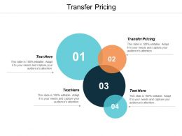 Transfer Pricing Ppt Powerpoint Presentation Styles Ideas Cpb