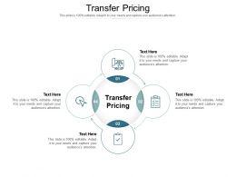Transfer Pricing Ppt Powerpoint Presentation Summary Portfolio Cpb