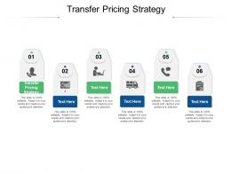 Transfer Pricing Strategy Ppt Powerpoint Presentation Professional Master Slide Cpb