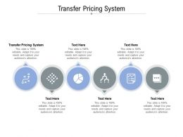 Transfer Pricing System Ppt Powerpoint Presentation Infographics Slide Cpb